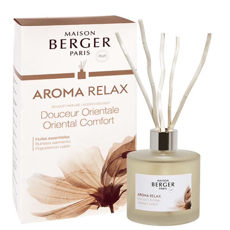 MBメゾンベルジェパリ・アロマリードディフューザー180ml・リラックスBouque parfumé brins Aroma Happy
